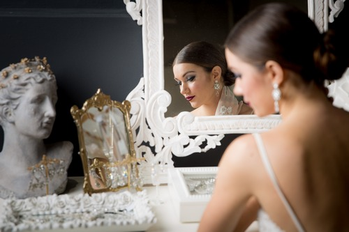 beautiful bride makeup hair toronto