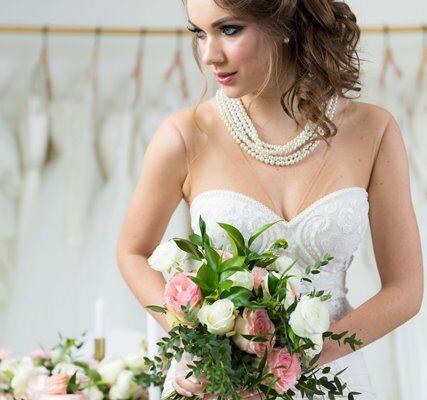 wedding with a bride