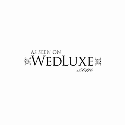 featured on wedluxe website