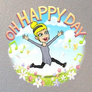 happy dance bitmoji