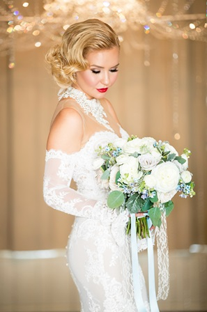 Grace Kelly Bridal Makeup And Hair I Do Beauty Co