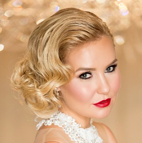 grace kelly bridal makeup and hair