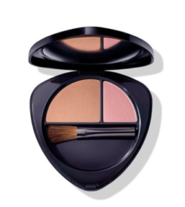 blush bronzer duo compact